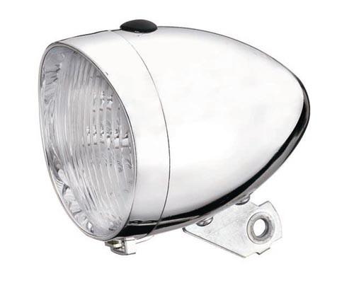 Lumina fata Union Retro UN-4900 cu baterii 3 LED Crom AM [0]