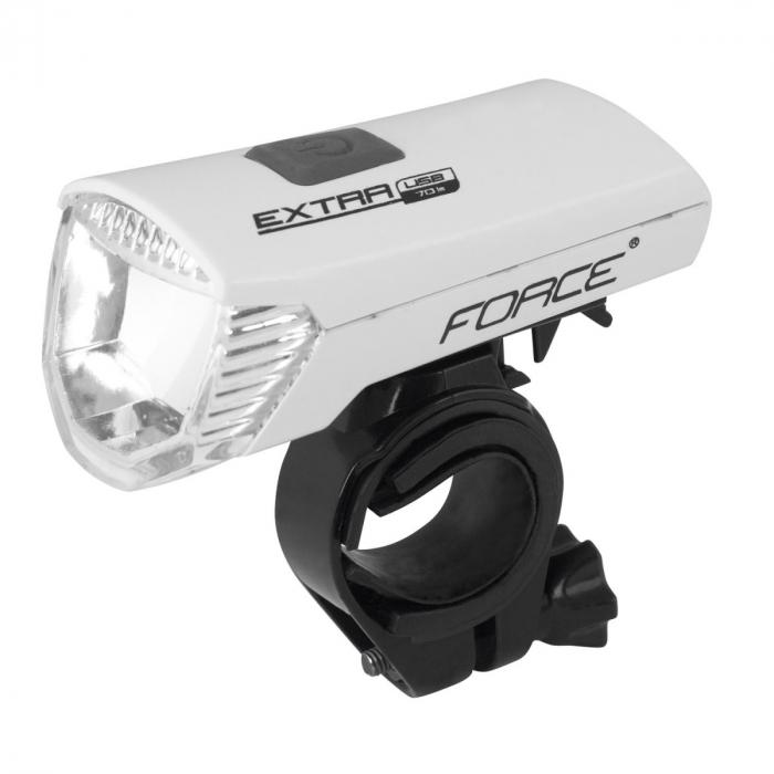 Lumina fata Force Extra USB 1 LED Alb [0]