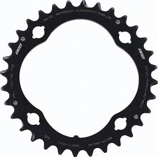 Foaie angrenaj pedalier BBB MTBGear comp. 3x10 Shimano 32T/104 mm [0]