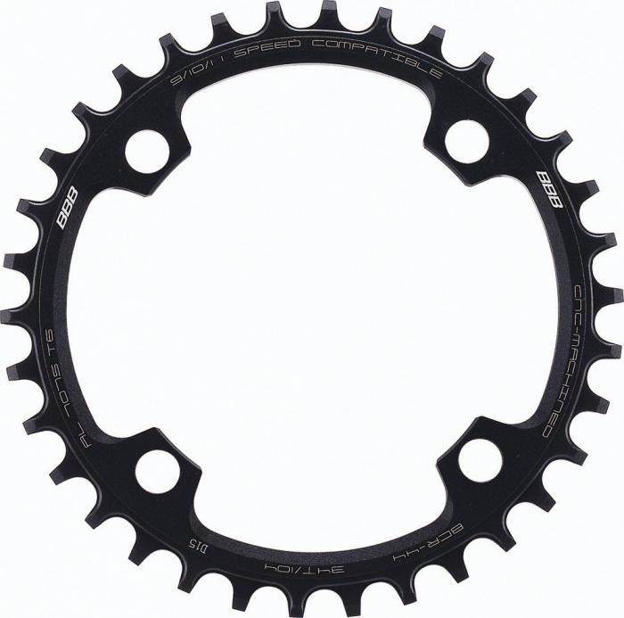 Foaie angrenaj pedalier BBB MTBGear narrow wide 1x9/10/11 34T/104mm [0]