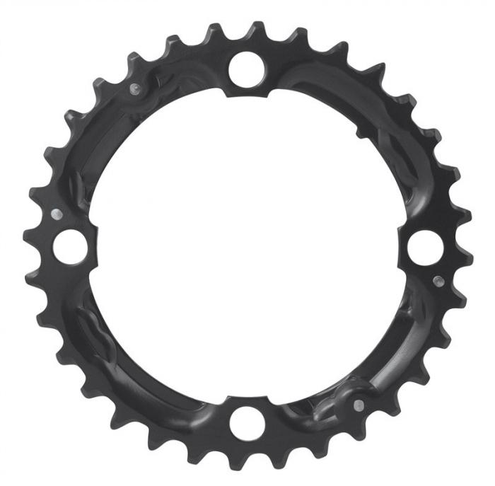 Foaie angrenaj pedalier Force Cr-Mo, negru, 10 viteze, 32T [0]