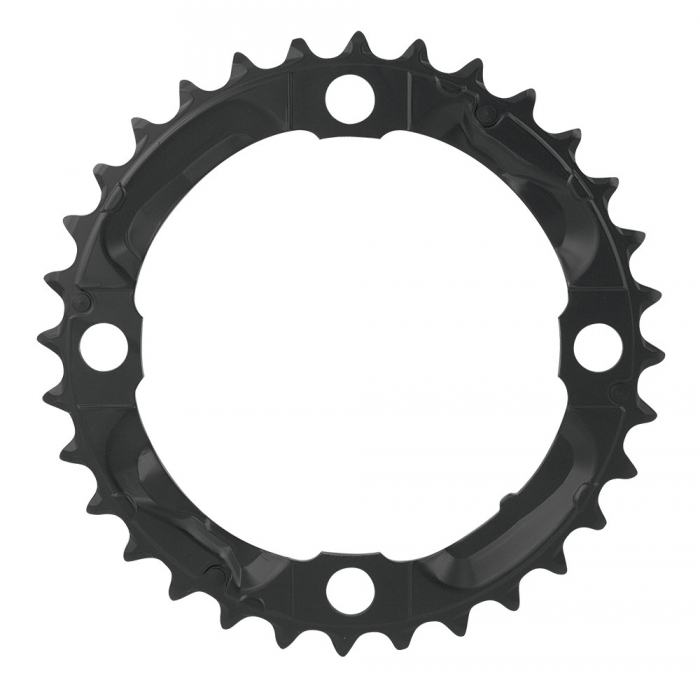 Foaie angrenaj pedalier Shimano FC-M590 32 dinti neagra [0]