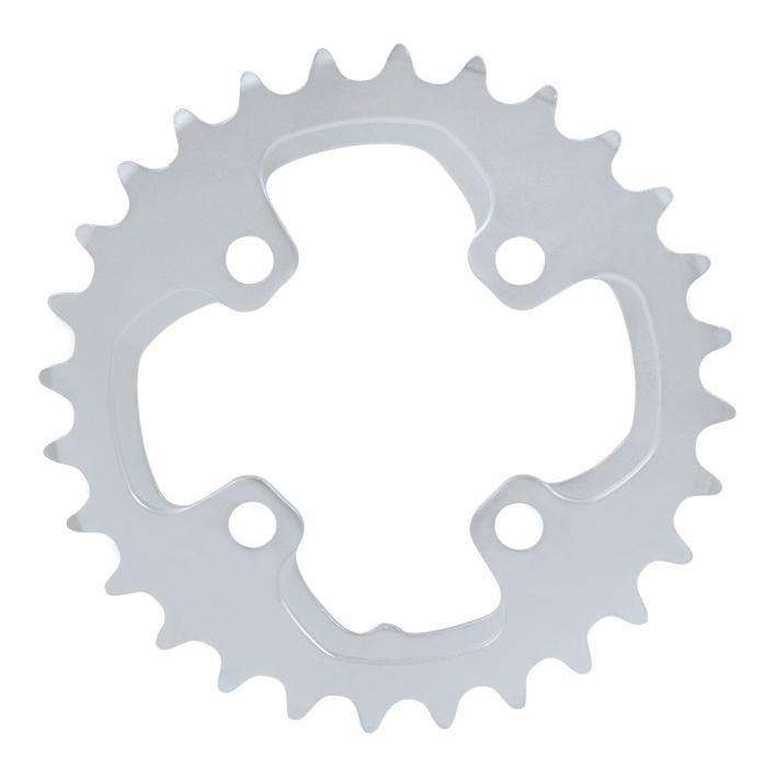 Foaie angrenaj pedalier Shimano FC-M785 28 dinti argintie [0]