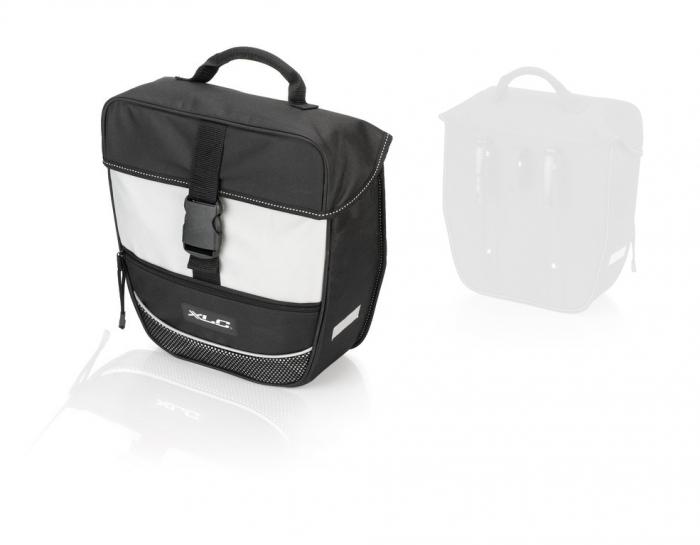Geanta portbagaj XLC BA-S67, Negru/Gri [0]