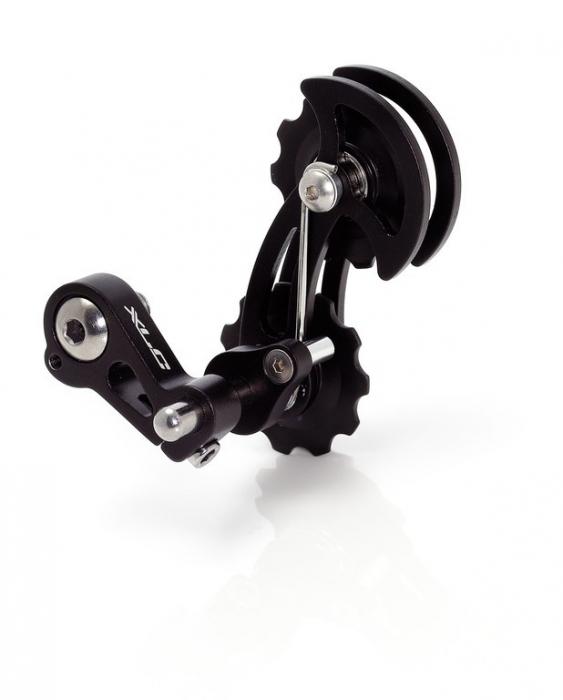 Intizator lant pentru Single-Speed XLC CR-A06, prindere pe ureche, negru [0]