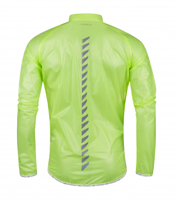 Jacheta Force Lightweight verde fluo SLIM L [1]