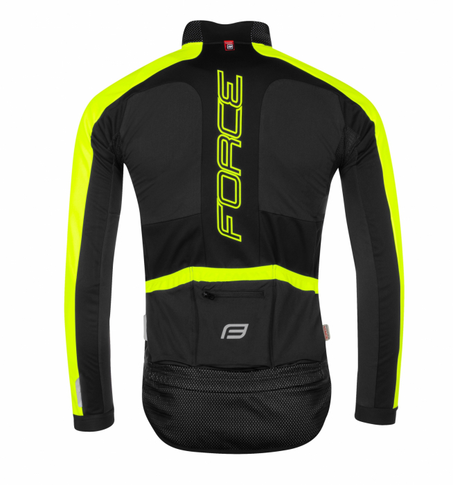 Jacheta Force X100 pentru iarna negru-fluo XS [2]