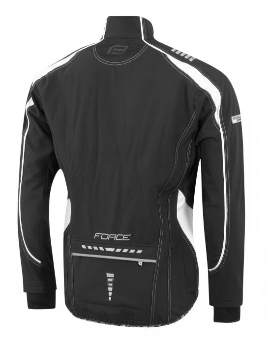 Jacheta Force X72 Men softshell negru-alb L [1]