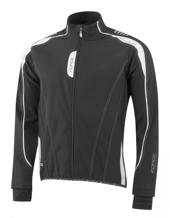 Jacheta Force X72 Men softshell negru-alb L [5]