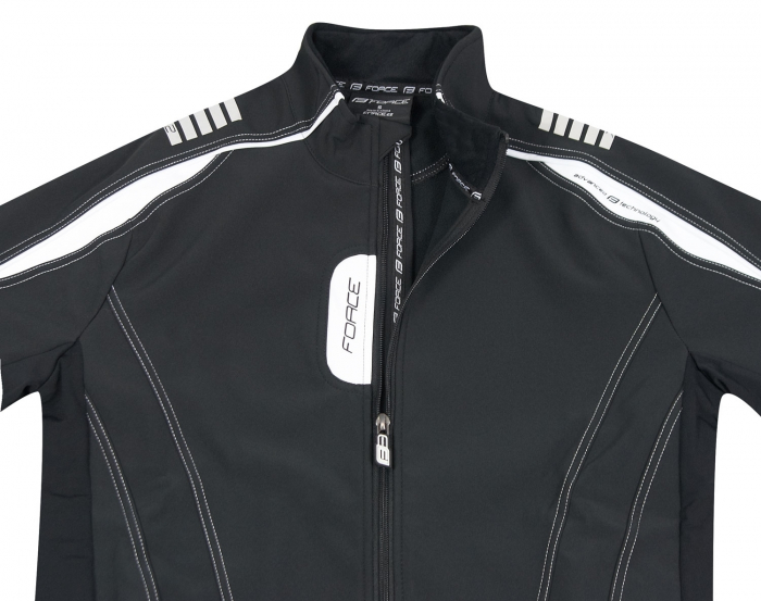 Jacheta Force X72 Men softshell negru-alb L [2]
