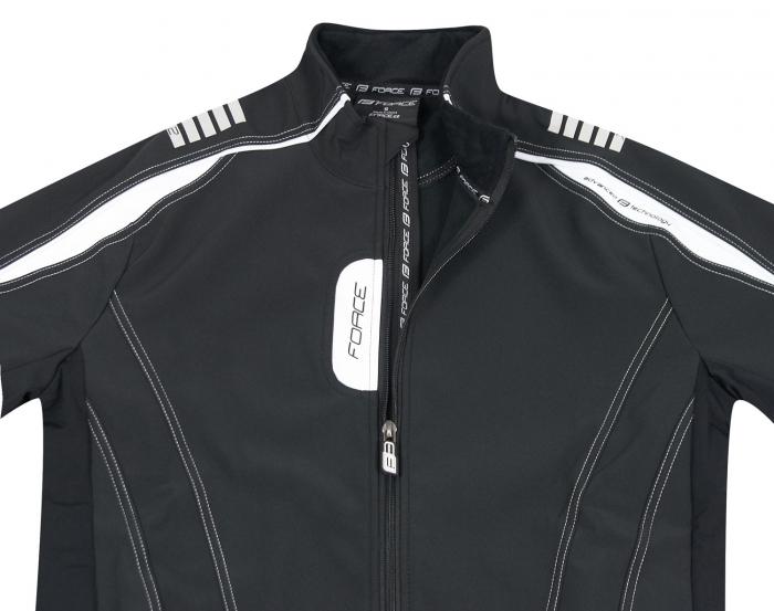 Jacheta Force X72 Men softshell negru-alb L [7]