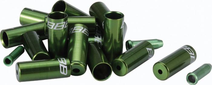 Kit capete BBB CableCap camasi si cabluri verde [0]