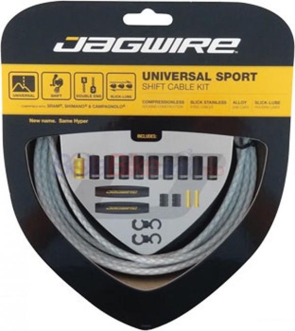 Kit Schimbator Jagwire Universal Sport, alb [0]