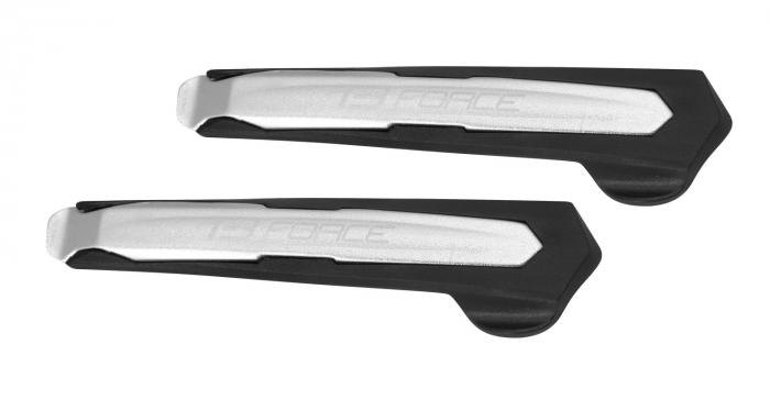 Leviere anvelopa Force Al-plastic argintiu/negru [0]