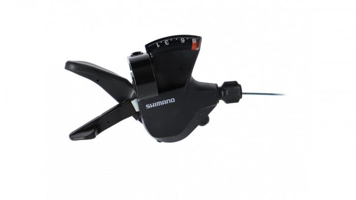 Maneta schimbator Shimano SL-M315-8R, dreapta 8 viteze, cablu 2050mm stainless, OGD, Ambalat industrial [0]