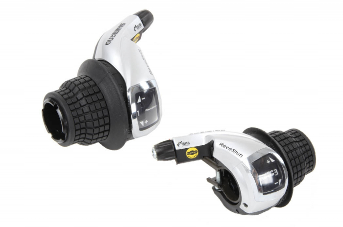 Manete schimbator Shimano Tourney SL-RS47, Revo-Shift, 3x8 viteze [1]