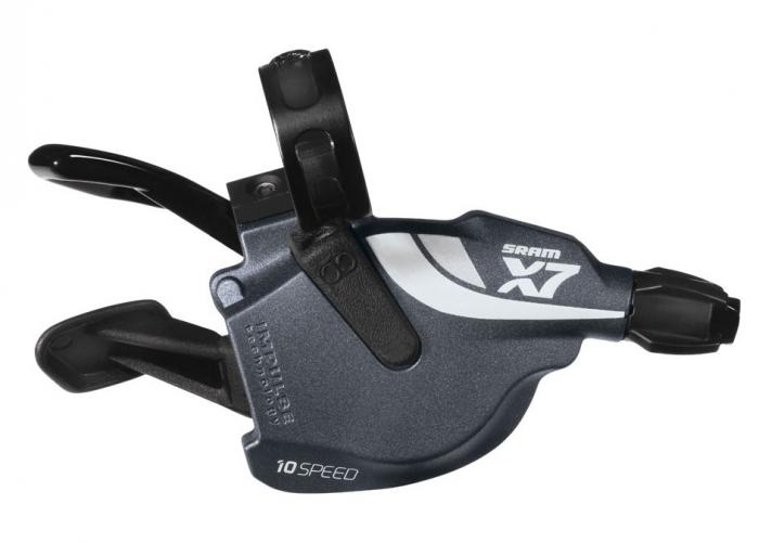 Manete schimbator SRAM X7 Trigger Set 2x10 viteze antracit [0]