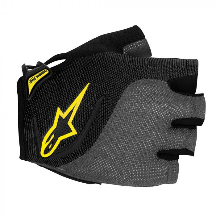 Manusi Alpinestars Pro-Light Short Finger black gray yellow XXL [0]