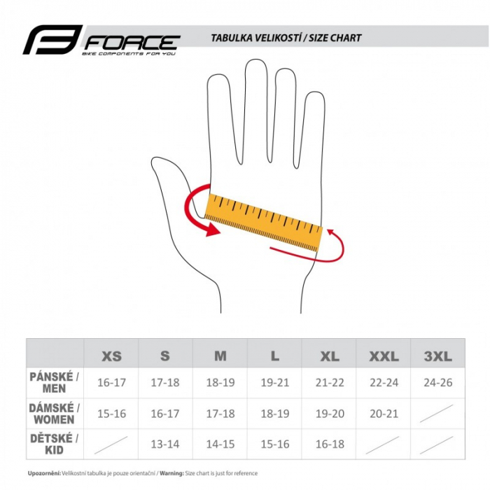 Manusi Force Kid MTB Angle, gri/negru L [2]