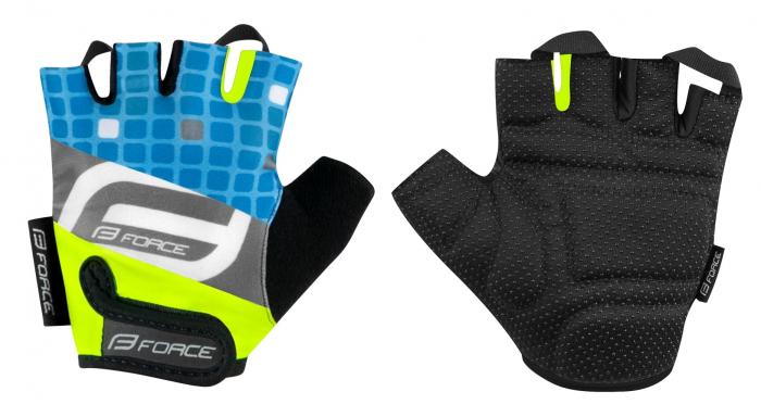 Manusi Force Sport Albastru/Fluo XS [0]