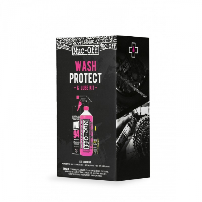 Muc-Off Wash Protect and Lube Kit (Dry Lube Version) [0]