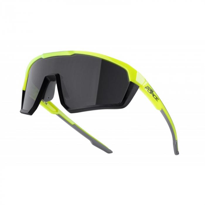Ochelari Force Apex lentila negru contrast, fluo/negru [0]