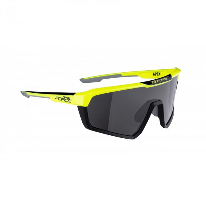 Ochelari Force Apex lentila negru contrast, fluo/negru [1]