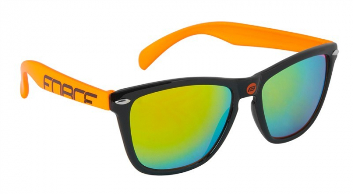 Ochelari Force Free negru/orange lentile orange laser [0]