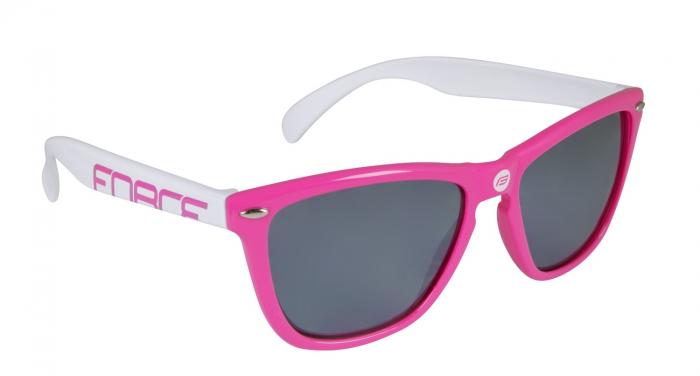 Ochelari Force Free roz/alb lentila negru laser [0]