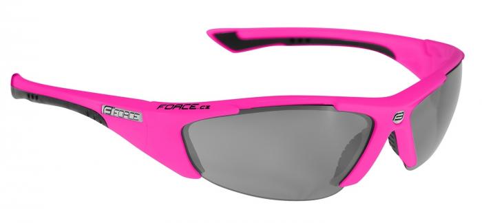 Ochelari Force Lady roz lentile negru laser [0]