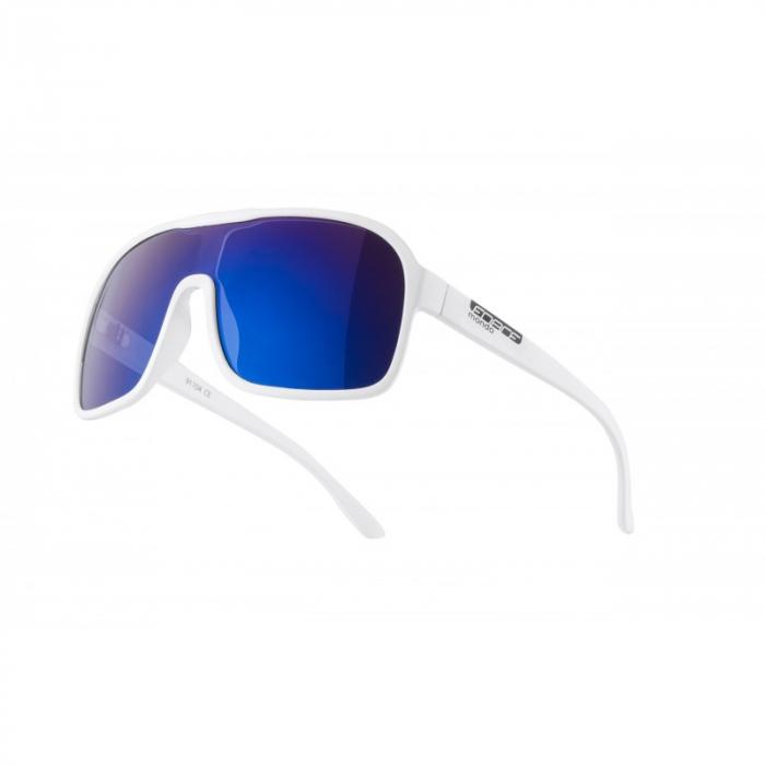 Ochelari Force Mondo alb mat, lentila albastra [0]