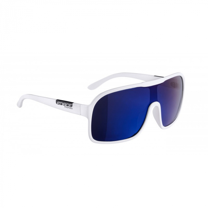Ochelari Force Mondo alb mat, lentila albastra [1]