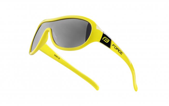 Ochelari Force Pokey lentile negre galben fluo [0]