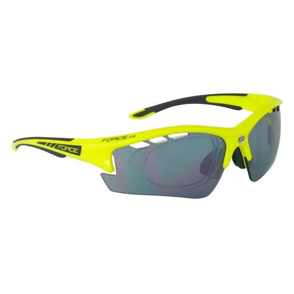 Ochelari Force Ride Pro cu suport lentile galben/negru [0]