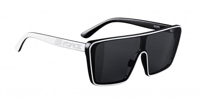 Ochelari Force Scope, lentile negre, albi [1]