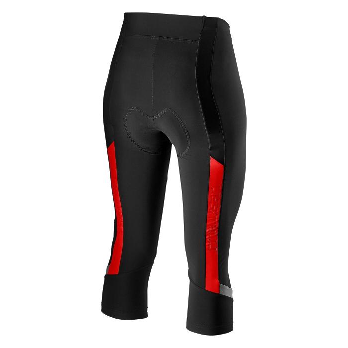Pantaloni Castelli Velocissima 2 Negru/Rosu M [0]