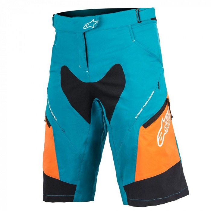 Pantaloni scurti Alpinestars Stella Drop 2 ocean/bright orange 30 [0]