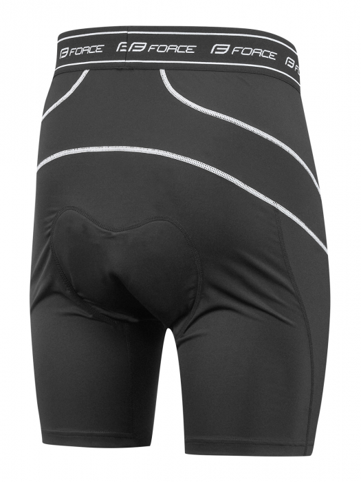 Pantaloni Force Blade MTB cu sub-pantaloni cu bazon Bleu XXL [4]