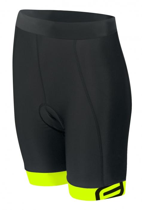 Pantaloni Force Kid cu bazon 140-153 cm negru/fluo [0]