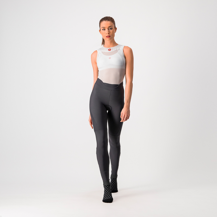 Pantaloni lungi Castelli Velocissima, de dama, Antracit, L [0]