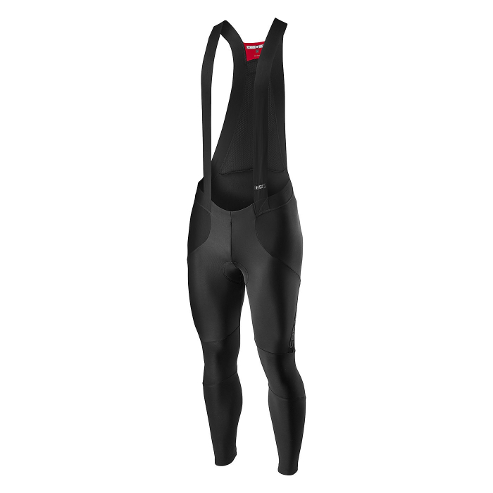Pantaloni lungi cu bretele Castelli Sorpasso RoS, Negru XL [0]