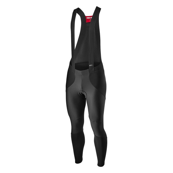 Pantaloni lungi cu bretele Castelli Sorpasso RoS Wind, Negru XXXL [0]