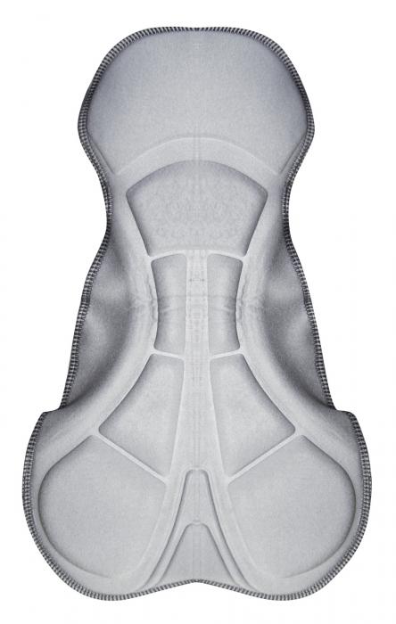 Pantaloni scurti cu bazon si bretele Force B38 XS [3]