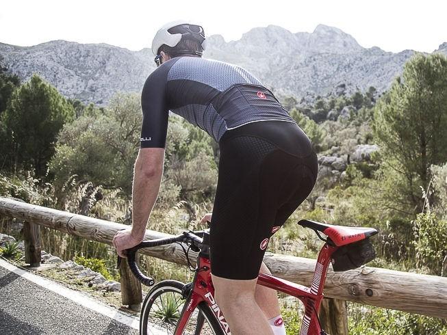 Pantaloni scurti cu bretele Castelli Free Aero Race 4, Negru, L [2]