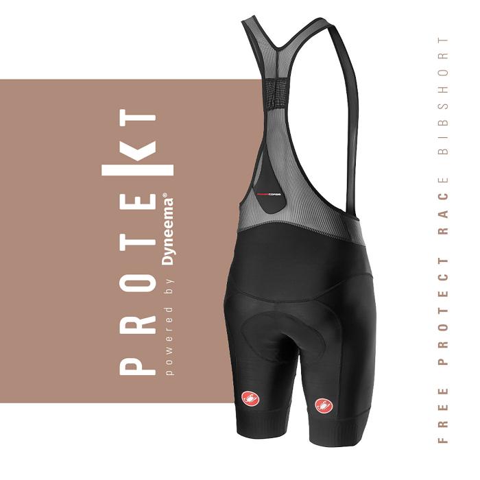 Pantaloni scurti cu bretele Castelli Free Protect Race Negru L [5]