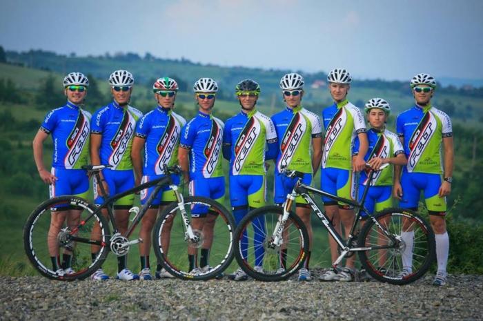 Pantaloni Ciclism Veloplus, Felt-Sidi MTB Team 2014, S [1]