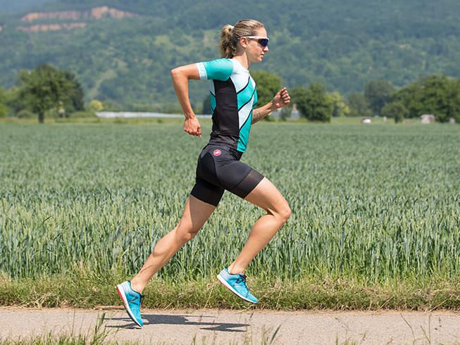 Pantaloni scurti pentru triatlon Castelli Free W Tri, de dama, Albastru Multicolor S [3]