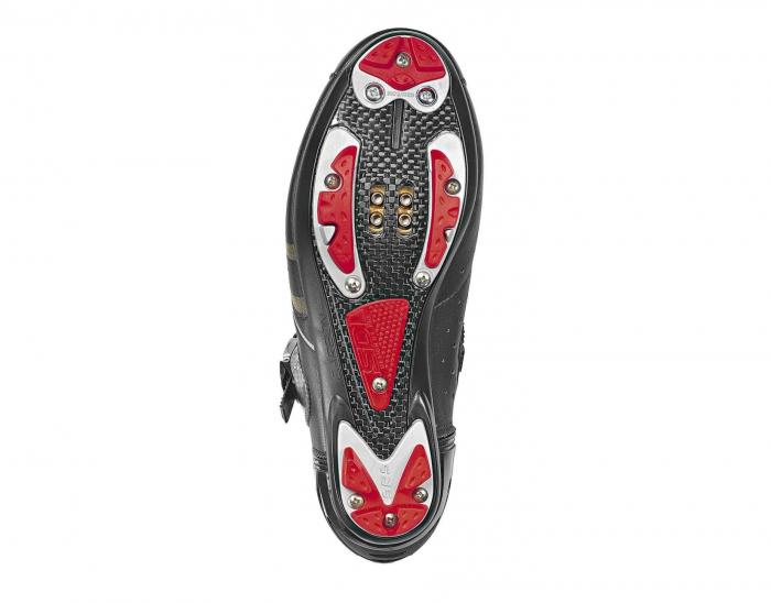 Pantofi ciclism SIDI Drako Carbon SRS, de MTB, Verde/Alb, 43.5 [1]