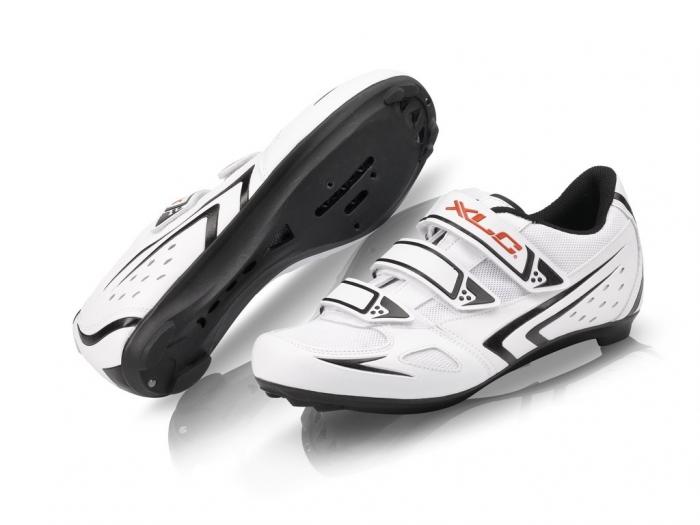 Pantofi ciclism XLC Road CB-R04, pentru sosea, Alb, 39  [0]