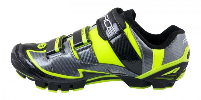 Pantofi Force MTB Carbon Devil fluo 45 [3]